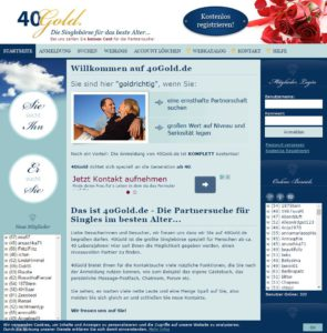 40gold single partnersuche